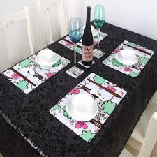 Table Place Mats Kitchen Table Mats New On Popular Dining Pvc Place For 1000 1000