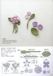 Tiny Flower Crochet Pattern - ravelry mini flowers crochet patterns diy tutorial knitting