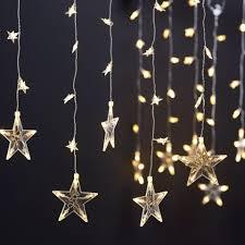 Esszimmerst Le Tchibo Led Sternenvorhang 50 Leds Dänisches Bettenlager