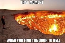 Hell Meme - jokes 2014 the door to hell