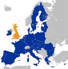 Map Of Us And Europe by United Kingdom European Communities Membership Referendum 1975