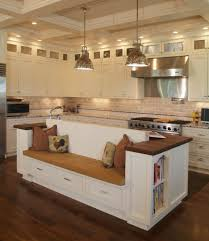 bench for kitchen island island bench kitchen designs interesting kitchen islands designs