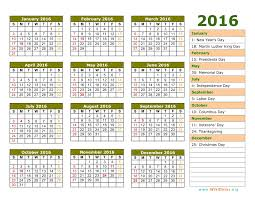 Federal Government Holiday Calendar 2016 The Best Holiday 2017