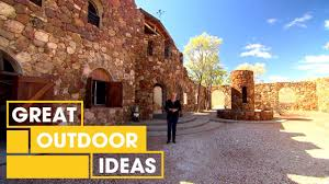 Outdoor Ideas Italian Style Hand Built Castle Tour Outdoor Great Home Ideas