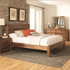 bedroom design fabulous queens comfort rustic wood bed frame