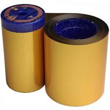 metallic gold ribbon datacard metallic gold ribbon kit 552954 608
