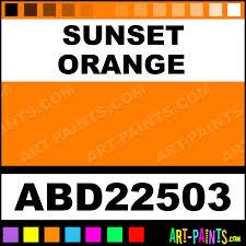 sunset orange adirondack acrylic paints abd22503 sunset orange