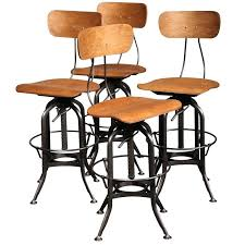 Outdoor Bar Table And Stools Bar Stools Set Of 4 Vintage Industrial Bar Stools Set Of 4 Outdoor