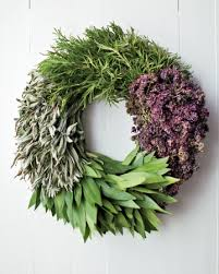 herb wreath stress free holidays whole living