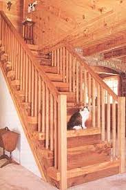 How To Build A Stair Banister How To Build Stairs Step By Step Diy Mother Earth News