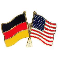 Spin Flag Freundschaftspin Deutschland U0026 Usa Gowsworld Com
