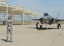 airman 1st class joshua cote 61st aircraft maintenance unit f 35