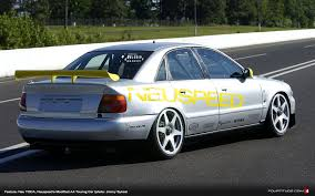 photo shoot then neuspeed owned audi sport a4 touring car in usa