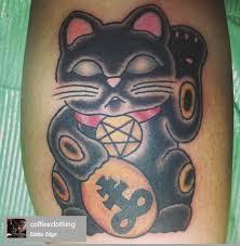tattoo cat neko tattoos for black maneki neko tattoo www getattoos us