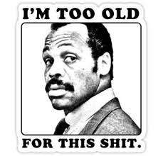 Danny Glover Meme - danny glover as det roger murtaugh in all the lethal weapon movies