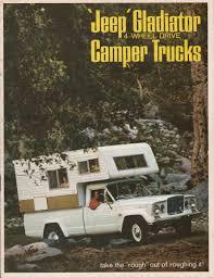 jeep gladiator 1963 kaiser 1966 gladiator camper jeep sales brochure