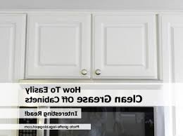 how to remove grease from wood cabinets how to clean grease from kitchen cabinets kenangorgun com