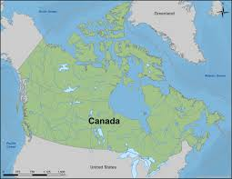 Map Of Canada And Us Mapping Canadian Coastal Research Society