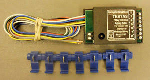 smart universal fitting 7 way bypass relay teb7as towbar towing