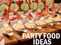 Foods For Cocktail Party - 6 easy party foods and super fun drink idea great for parties or gno