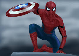 learn draw spiderman captain america civil war