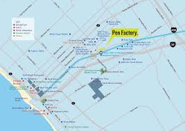 Santa Monica College Campus Map Pen Factory