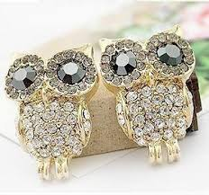 owl stud earrings jewelry big eye owl stud earrings where there s a need inc