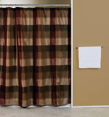 Burgandy Shower Curtain To Design Around Burgundy Curtains