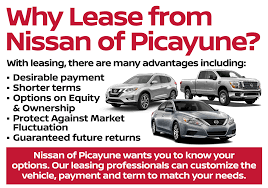 nissan armada lease deals affordable nissan leasing at our nissan dealership in picayune ms