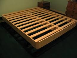 Making A Wooden Bed Platform by Bed Frames Diy King Platform Bed Platform Beds With Storage