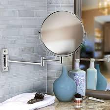 Bathroom With Mirror Bathroom Mirrors Bath The Home Depot