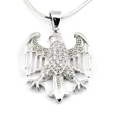 large silver necklace pendants images Sterling silver american eagle pendant necklace jpg