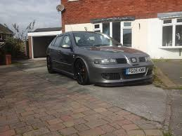 used 2005 seat leon cupra 20v cupra r for sale in midlands