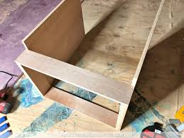 how to build a base for cabinets to sit on how i built my lower base cabinets and drawers in the pantry