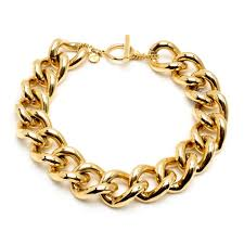 chain link necklace images Classic gold gold chain link necklace ben amun jewelry ben amun jpg