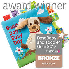 best baby book taggies buddy dog soft book baby
