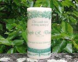 personalized in loving memory gifts memorial candle sympathy candle remembrance gifts