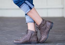 womens boots melbourne cbd planet shoes deka womens fashion leather lace up ankle boots