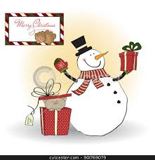 christmas greeting cards clipart