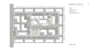 floor plan of a mosque 1000 residential units hkz mena design magazine