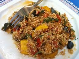 cuisiner quinoa ratatouille au quinoa envie de cuisiner