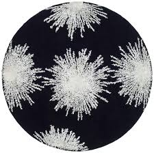 3 Round Area Rugs by Black Circle Rug Roselawnlutheran