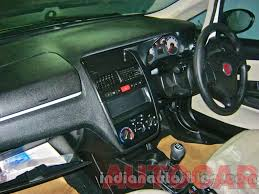 Fiat Linea Interior Images Fiat Linea Classic Snapped Edit Now Launched Indian Cars