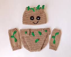 Diaper Halloween Costume Baby Groot Costume Etsy