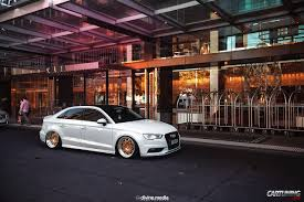 stanced jeep wrangler stanced audi a3 sedan cartuning best car tuning photos from