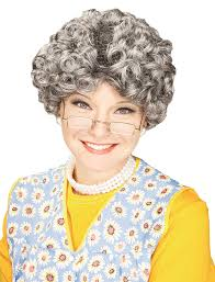 halloween costumes for grandma amazon com forum novelties women u0027s yo momma curly costume wig