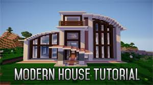minecraft how to build a modern house 1 8 part 3 youtube