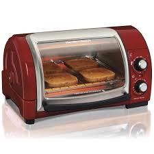 Quick Toaster Oven Recipes Hamilton Beach Easy Reach 4 Slice Toaster Oven 31337