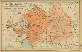 Austria Map Of The Austrian Empire 1648 1795