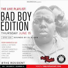 Bad Boy Records Bad Boy Records Tribute Party Concert Tickets Thu Jun 15 2017